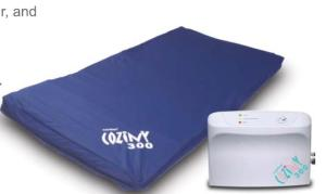medical equipment coziny 300 mattress for baby cot
